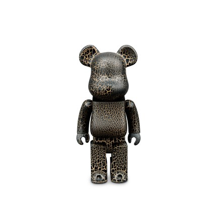 BE@RBRICK Karimoku Crack Paint 400%