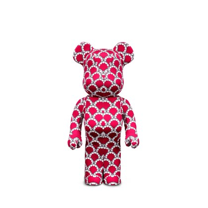BE@RBRICK x KAWS World Wide Tour 2 Red 1000%