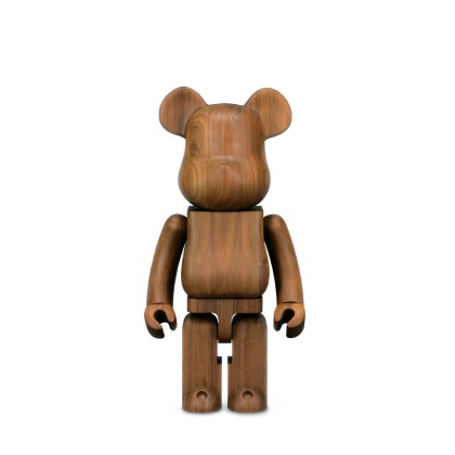 BE@RBRICK Karimoku Walnut  1000%