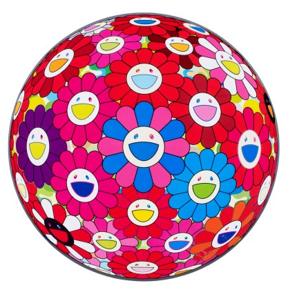 Flowerball (3D) - Blue, Red