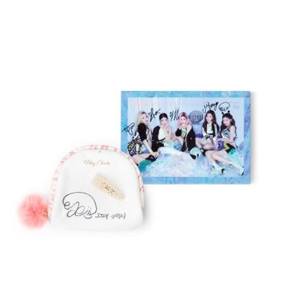 파우치 + 머리핀 + 친필 사인 CD