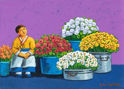 꽃 파는 사람