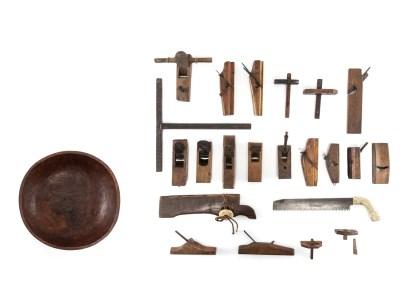 함지·목공구  木盆·木工具