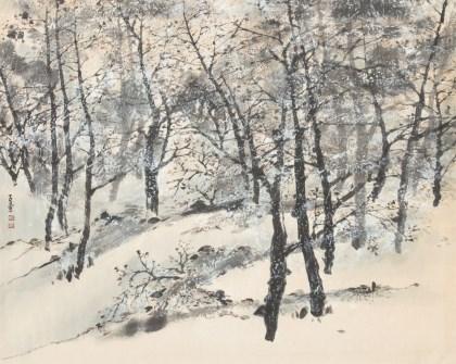 설경산수 雪景山水