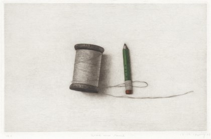 Spool and Pencil