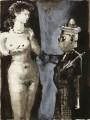 Clown et Femme