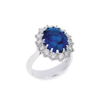 8ct Sapphire Ring