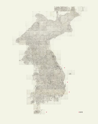 Daedongyeojido, The Territorial Map of the Great East