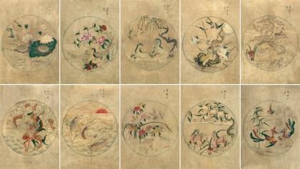 Flowers, Birds and Animals