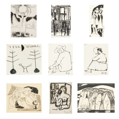 Drawings(214 Works on Paper)