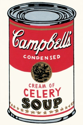 Andy Warhol, 'Large Campbell's Soup Can, Cream of Celery,' 1964