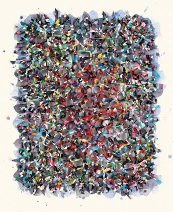 Peinture Spatiale No. 0705