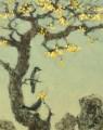White Cedar with a Bird