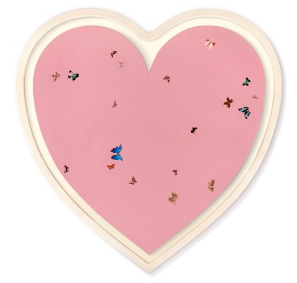 Untitled (Butterfly Heart)