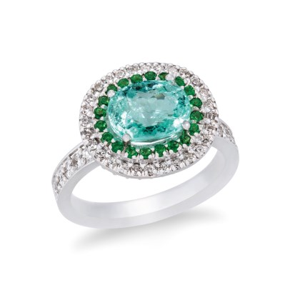 Paraiba Bailey Ring