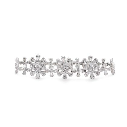 Diamond Flower Bracelet